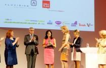 Prinses Mathilde reikte de 14e WOMED Award uit in de Event Lounge