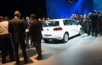 VW stelt Golf Blue-e-Motion