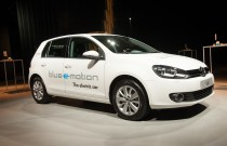 Volkswagen stelt Golf Blue-e-Motion voor in de Event Lounge