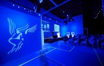 ID event kleurt Event Lounge fluo voor Imperial Tobacco