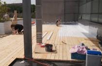 Event Lounge opens Terrace for Outdoor Activities in Belgian Capital